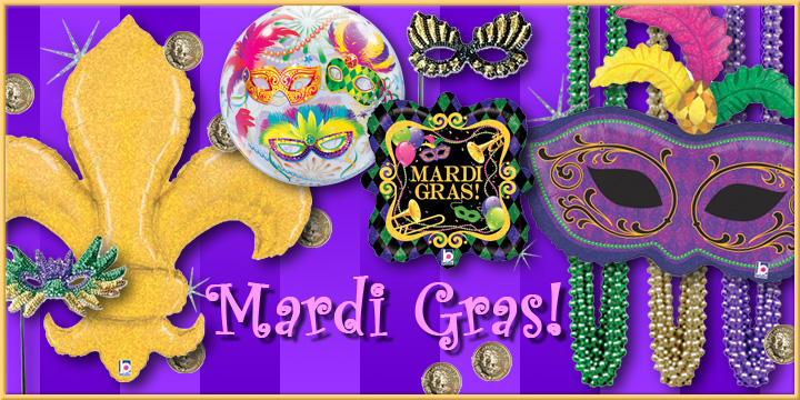 Get ready for Mardi Gras!