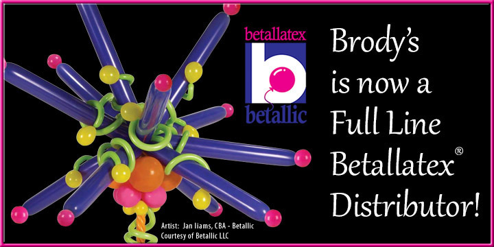 Brody's is now a Full Line Distributor of Betallatex!