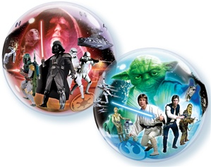 22 inch Star Wars Bubble Balloon