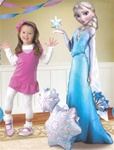 57 inch FROZEN AirWalker Elsa balloon