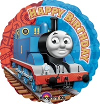 18 inch Thomas Happy Birthday foil balloon