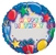36 inch  JUST WRITE Presents Blue foil balloon