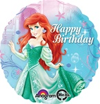 18 inch Ariel Happy Birthday