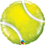 18 inch Tennis Ball shaped foil balloon