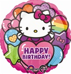 17 inch Hello Kitty Rainbow Birthday