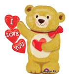 28 inch Love Bear Hearts