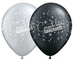 11 inch Qualatex Congratulations Graduate