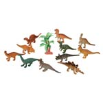 1.5 to 2in Plastic Dinosaurs