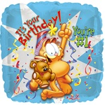 18in Garfield Birthday #1