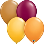 11 inch AUTUMN Latex Balloon Assortment