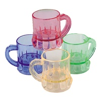 1.75 inch Mini Plastic Beer Mugs