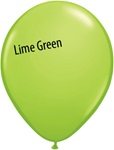 11in LIME GREEN Qualatex Fashion