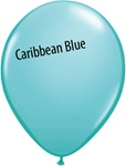 11 inch Qualatex Fashion CARIBBEAN BLUE