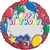 18 inch JUST WRITE  Happy Birthday Presents Balloon