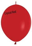 12in Link-O-Loon Crystal RED