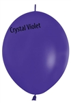 12in Link-O-Loon Crystal VIOLET