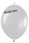 12in Link-O-Loon Metallic SILVER