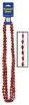 36 inch Diamond Beads Red