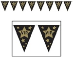 10in x 12 foot VIP Pennant Banner