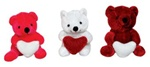 Bear with Heart 3 Assorted