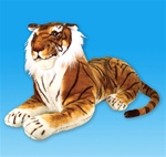 36 inch Laying Tiger Plush