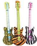 42in Safari Print Rock Guitar