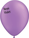 11in NEON VIOLET Qualatex