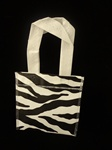 Small Zebra Tote Bag