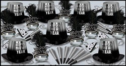 Silver Entertainer New Years Assortment Kit