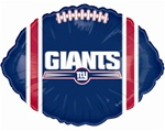 18 inch New York Giants Foil Balloon