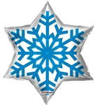 22 inch Snowflake (Clearview)