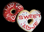 9 inch DONUT Love Messages