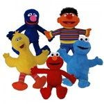 9 inch Plush Sesame Street Classic Characters