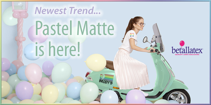 New Pastel Matte now at Brody's