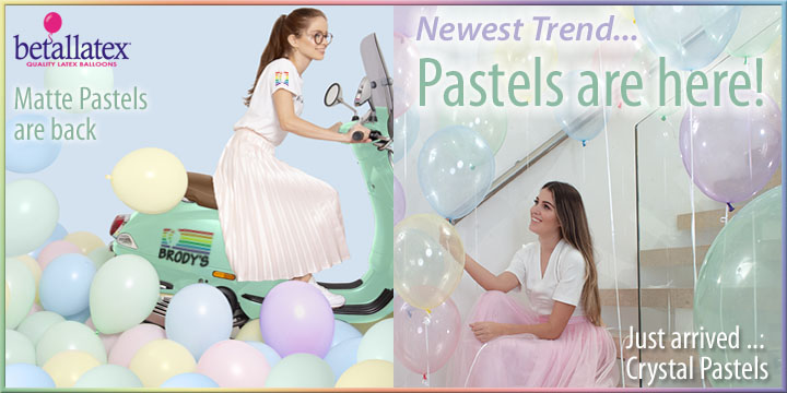 New Crystal Pastels now at Brody's