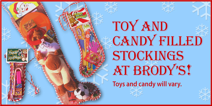 Stockings Filled with Toys & Candy!