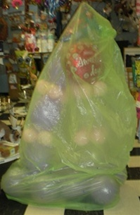 Density Of Plastic >> XL Balloon Delivery Bags